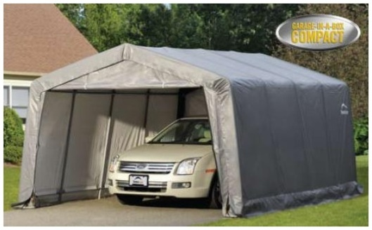 portable garage shelter by shelterlogic