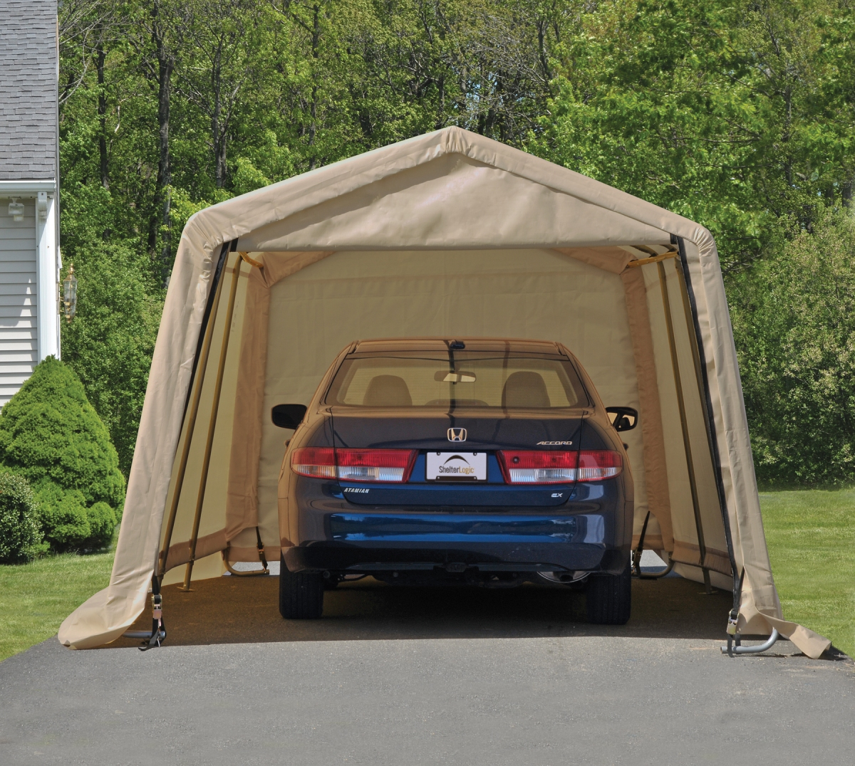 Garage in A Box Review | Portable Car Garage Shelters