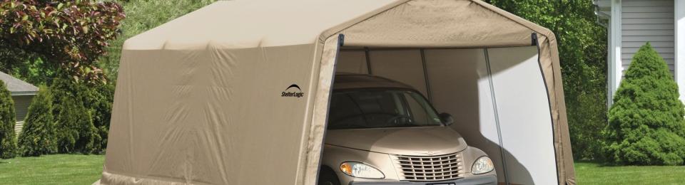 Portable Car Parking Shelter : Shelterlogic auto shelter review portable car
