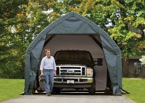 Truck garage shelter