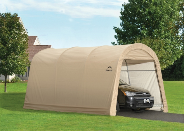Costco Portable Garages And Shelters : Shelterlogic auto shelter review portable car