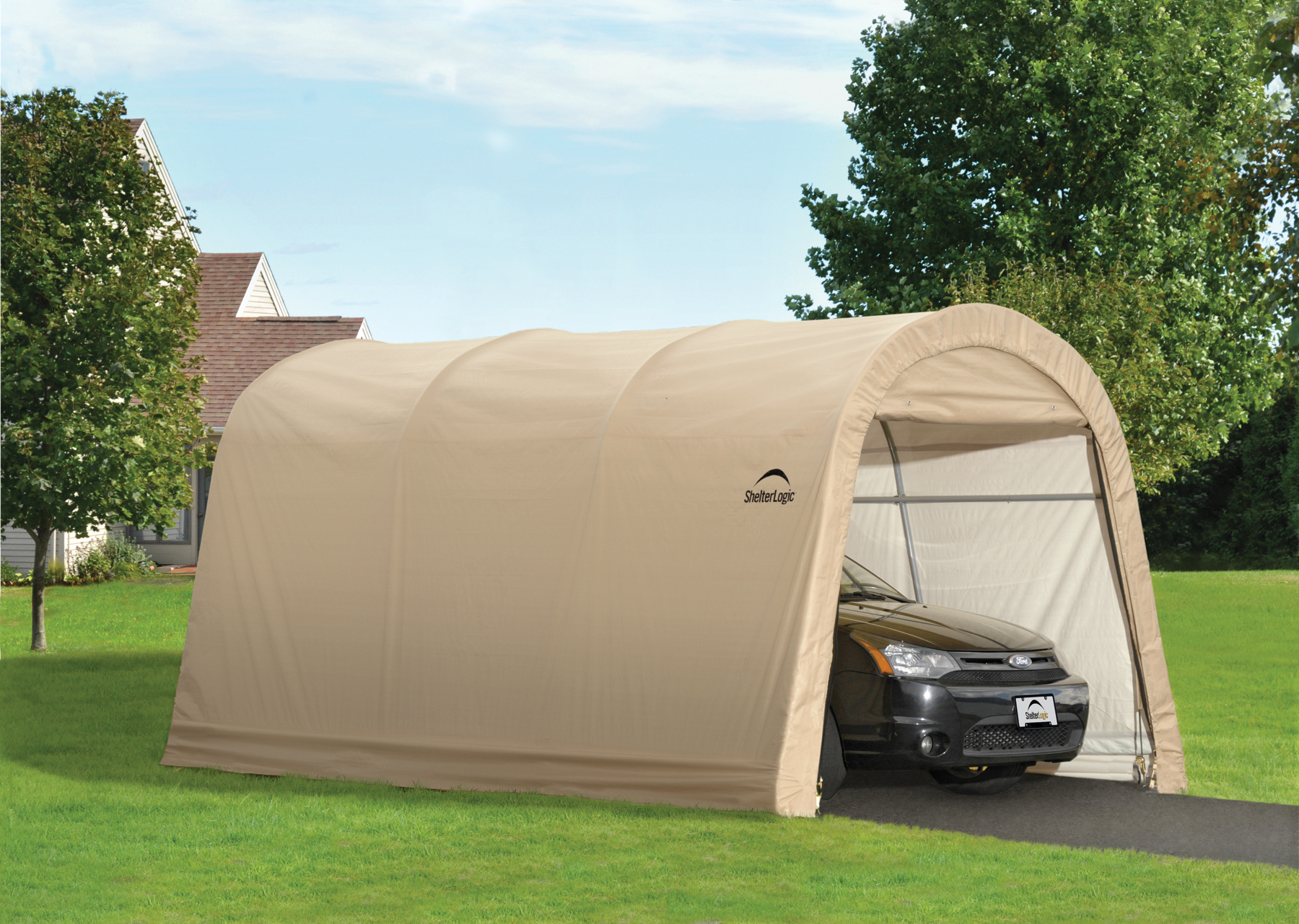 10 x 15 Round auto shelter Garage review & Portable Car Garages From Costco? Read This First! | Portable Car ...