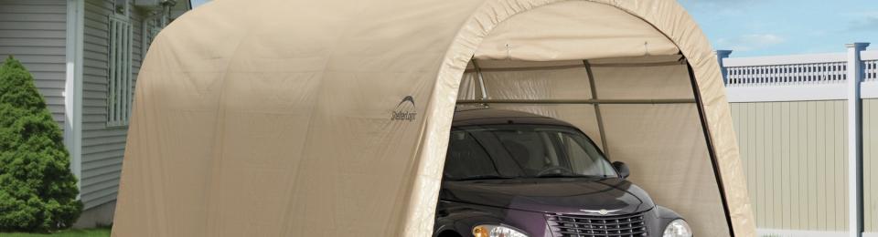 Shelterlogic Auto Shelter 10×15 Review | Portable Car ...
