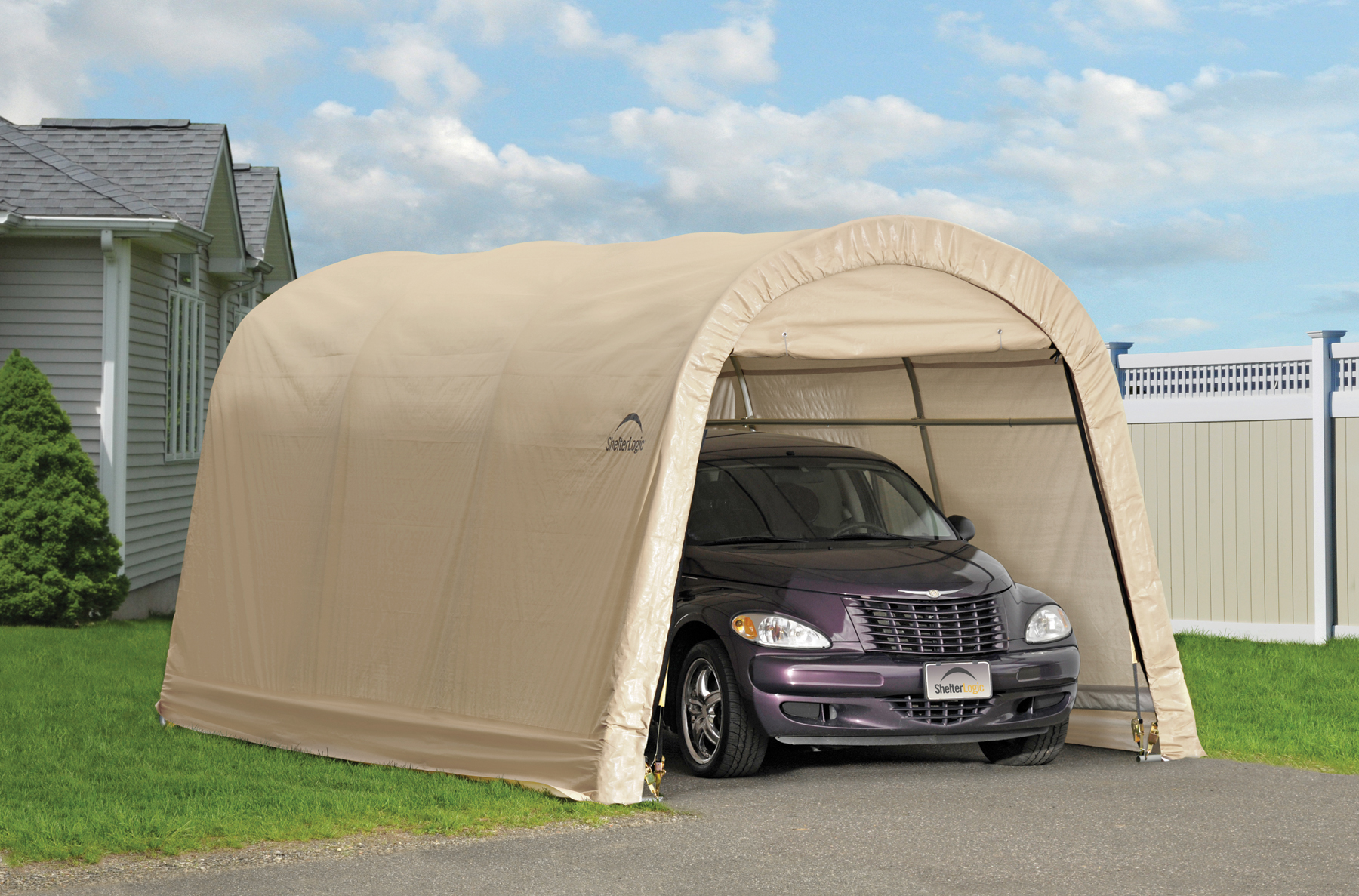 buy shelterlogic 10x15 carport canopy 10x15 & PORTABLE CAR STORAGE TENT BUYING GUIDE | Portable Car Garage Shelters