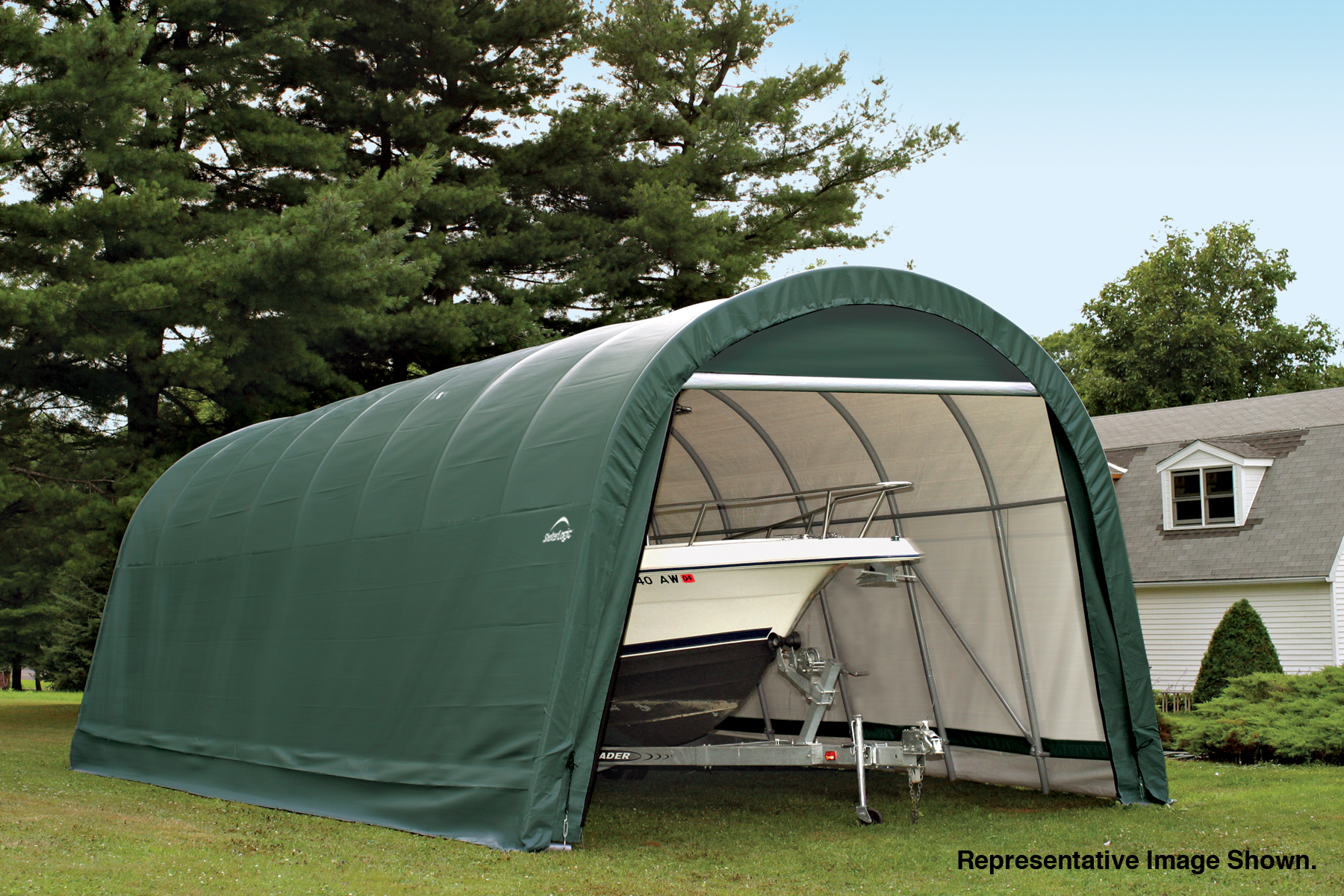 Instruction To Set Up A Portable Carport : Portable car garage shelters the best carport