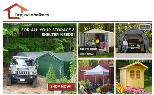 Removable Carport Kits Do It Yourself : Portable car garage shelters the best carport