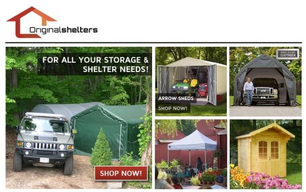 buy portable car garages