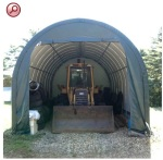 temporary fabric shelters