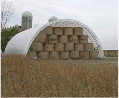 hay storage farm shelter